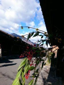 妻籠宿・馬籠宿・飛騨高山の旅①